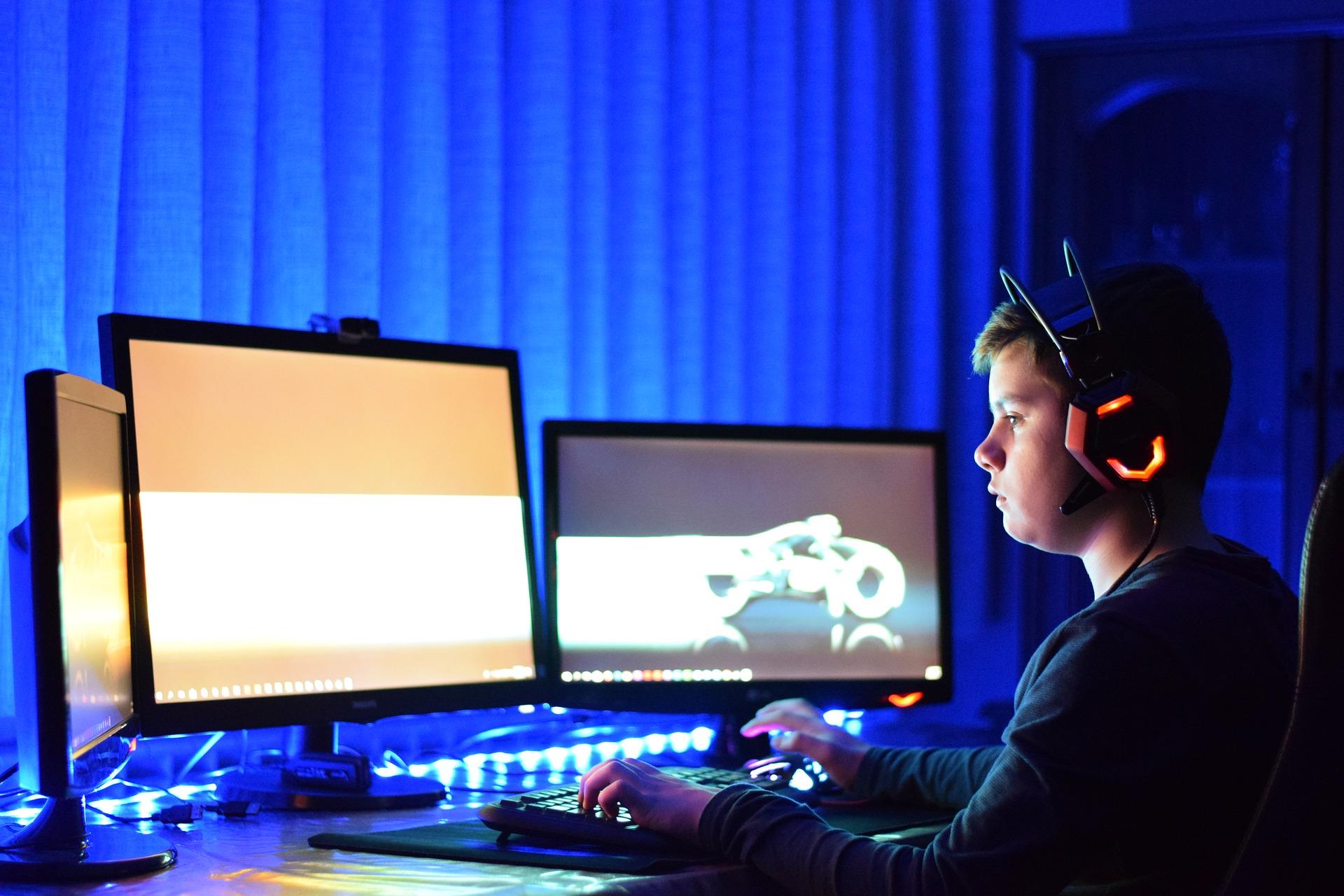 tábor pro PC hráče