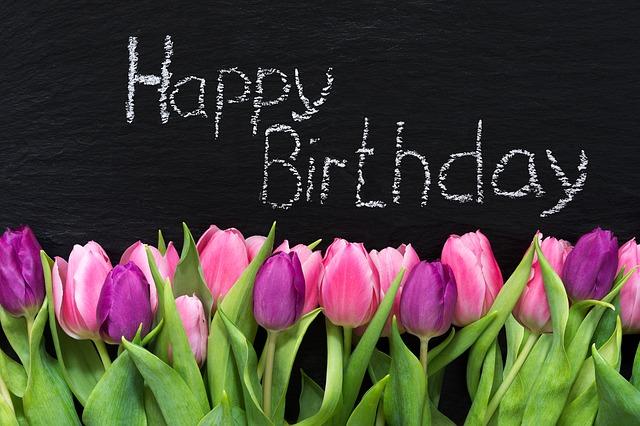 narozeninové přání