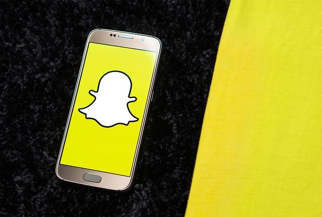 Snapchat v telefonu