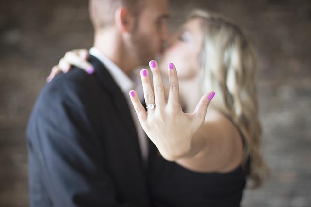zasnoubený pár