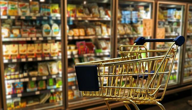 vozík na nákup